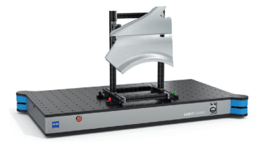 Automated Self-Propelled Gridplate Efficiently Transports Components For CMM Inspection