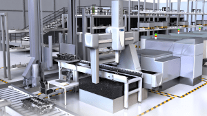 Web Portal Performs Remote CMM Inspection Monitoring