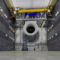 Massive Testbed Incorporates Powerful X-Ray Machine Capturing Running Engine Data