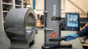 Height Gauge Improves Precision Machined Components Inspection