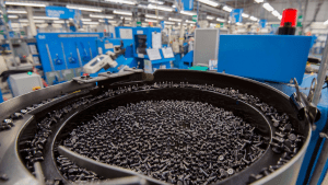 Machine Learning Fault Detection to Deliver on Smart Factory Aerospace Fasteners Production Line