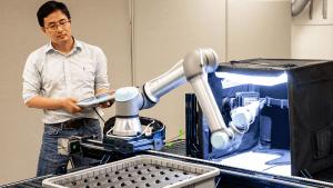 A Vision For Robotics – Inspection Of Complex Metallic Parts