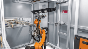 Quality Inspection With Robot and 3D Scanner