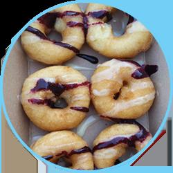 Berry Sweet Mini Donuts