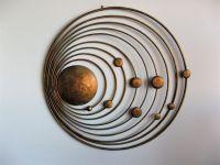 Metro Modern - Copper Metal Wall Art