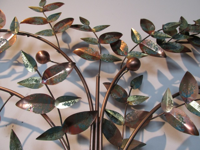 Curtis Jere Tree Of Life Metal Wall Sculpture
