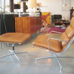 Eames Chair Cushion Madison Park Chairside Accent Table Metro Modern - Soft Pad Lounge & Ottoman