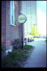 Corktown, west of downtown Detroit