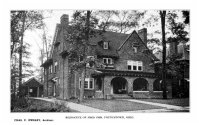 Fred Orr House, Illinois Avenue, 1915. By Charles F. Owsley.