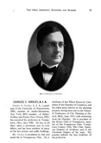 Youngstown architect Charles F. Owsley designed a number of buildings throughout the city.