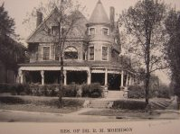 Dr. R. M. Morrison House on Broadway in 1927