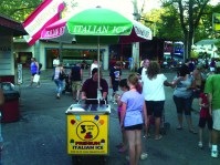 Italian ice at Conneaut Lake Park. By Ron Flaviano.