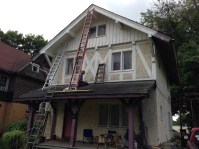 1890s chalet-style house - full frontal