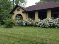 New landscaping and paint