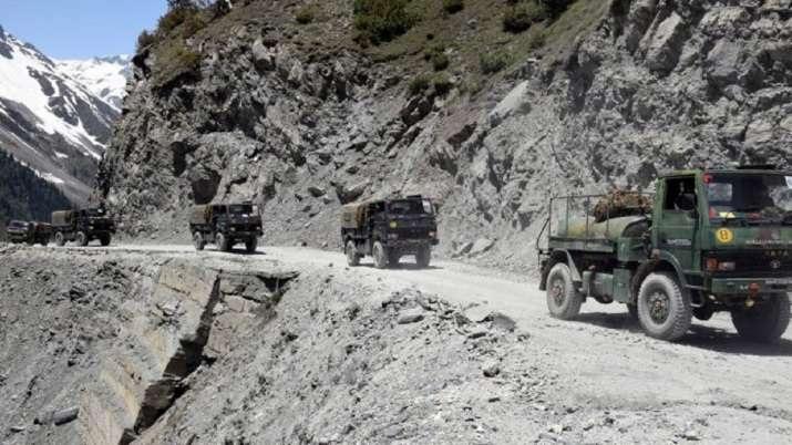 गलवन घाटी में ऑरेंज अलर्ट पर भारतीय वायुसेना और थल सेनाएं