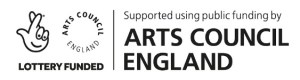 Funded bu the Arts Council