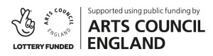 Funded by the Arts Council