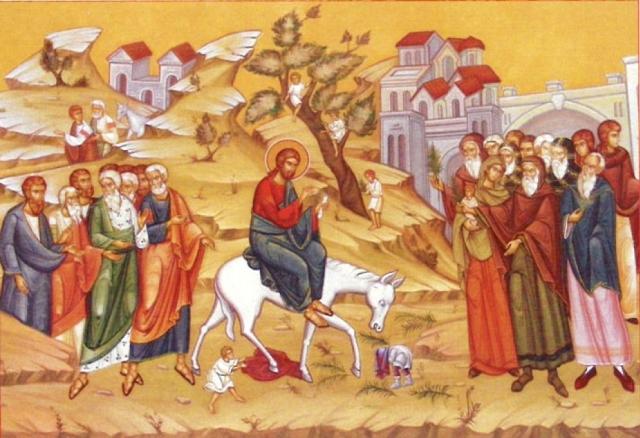 duminica intrarii in ierusalim milano