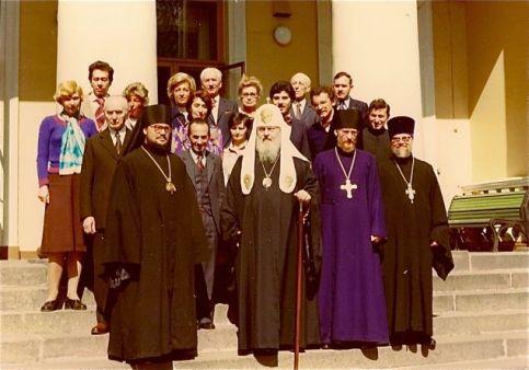 Mitropolitul Evloghios in Vizita la Moscova
