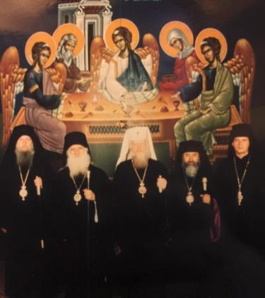 Elezione di S.B.Evloghios Metropolita di Aquileia dopo che Metropolita Gabriele entra nella Chiesa Polacca