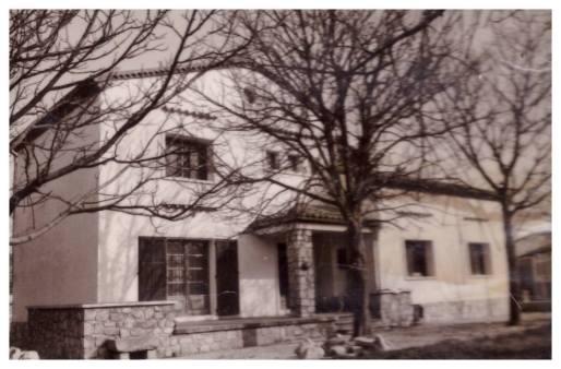 la casa dove e cresciuto il nostro Metropolita
