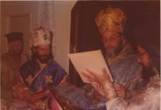 Hirotonia Arhimadritului Evloghios in episcop