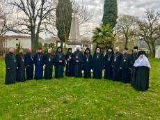 Arcivescovo Avondios al Monastero di Lonato