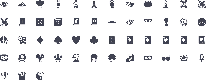 misc Glyph Icons