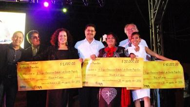 Photo of Espectacular gran final del concurso estatal de Canto Popular