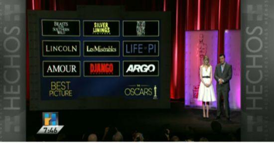 Oscar 2013 nominaciones