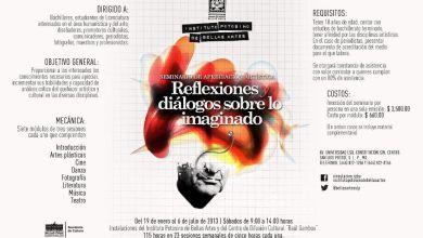 Photo of Seminario de Apreciación Artística – Reflexiones y diálogos sobre lo imaginado