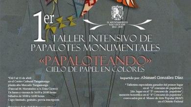Photo of 1er Taller Intensivo de Papalotes Monumentales