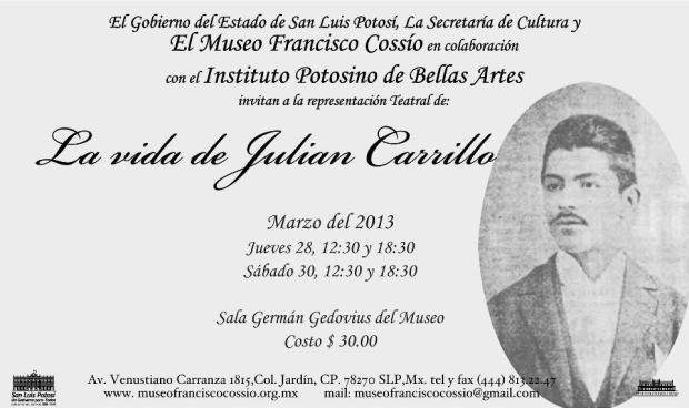 La vida de Julian Carillo