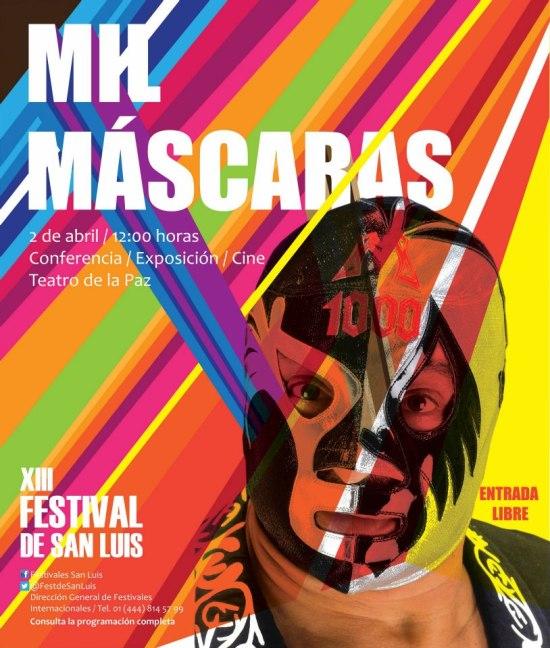 Mil Mascaras  en el XIII FEstival de San Luis