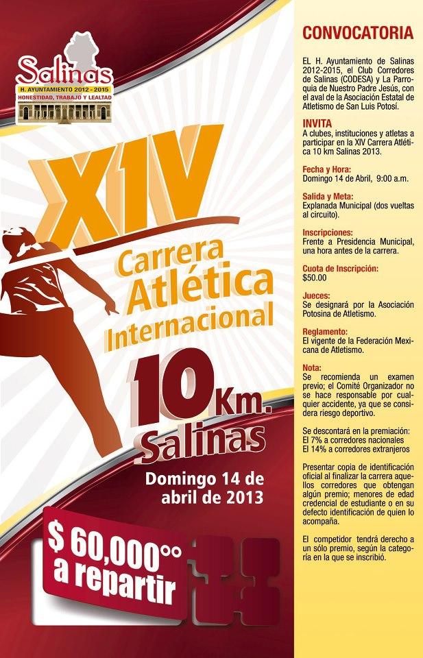XIV Carrera de Salinas