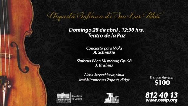 orquesta sinfonica domingo 28 de abril