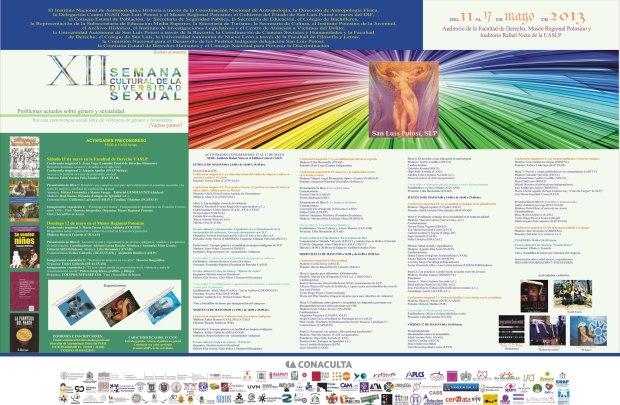 XII Semana Cultural de Diversidad Sexual San Luis Potosi