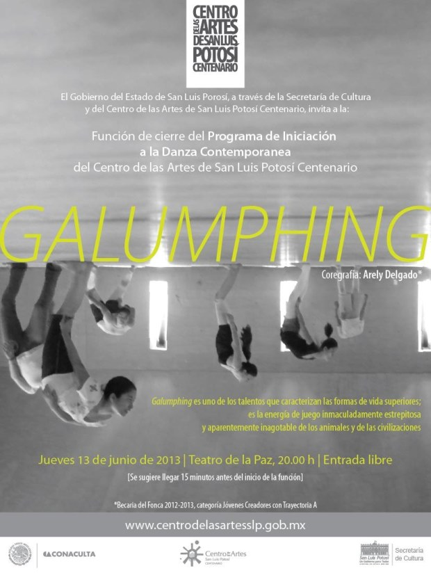 GALUMPHING