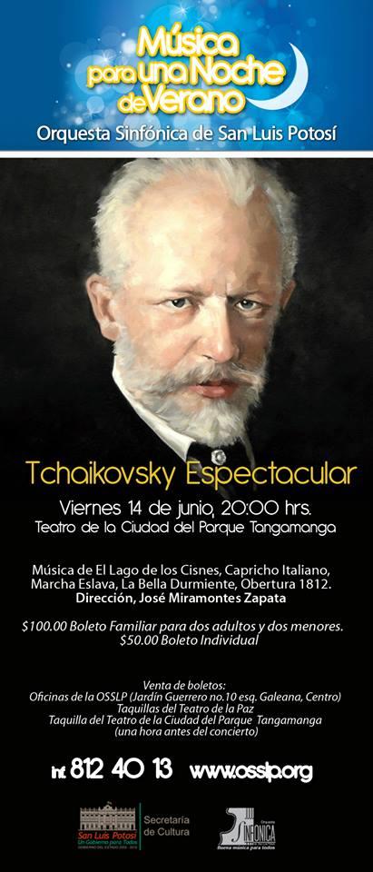 OSSLP Tchaikovsky Espectacular