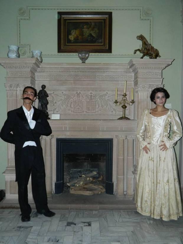 Doña Joaquina y Don Gerardo