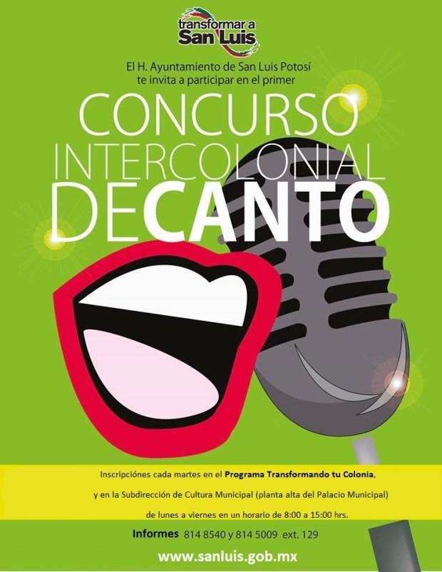 Lunes - Concurso intercolonial de Canto-