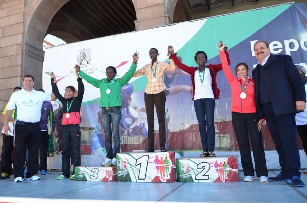 ganadoras medio maraton mpal