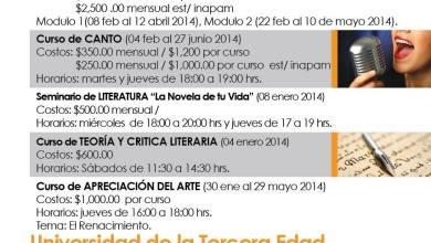 Photo of Oferta de cursos 2014 del Museo Francisco Cossío