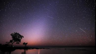 Photo of Lluvia de estrellas este 3 de Enero del 2014