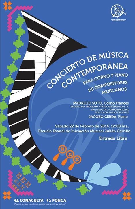 concierto de musica contemporanea