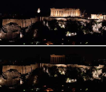 La Acropolis, Atenas, Grecia