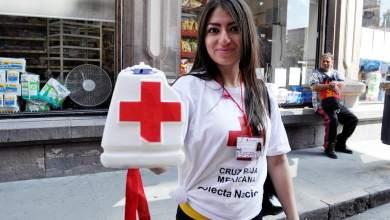 Photo of Cotninuá la colecta nacional de la Cruz Roja