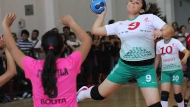 Photo of El equipo Femenil de HandBall potosino con boleto a la Olimpiada Nacional 2014