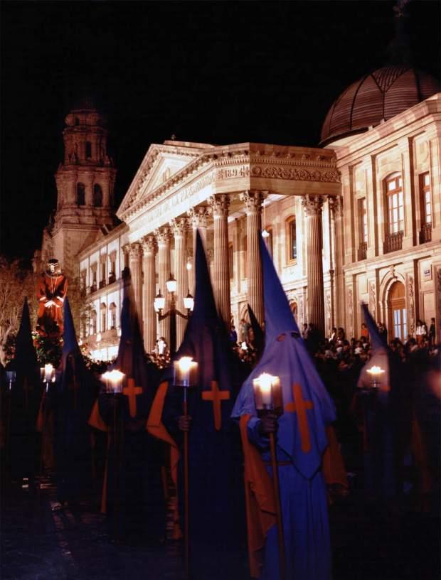 Procesión del Silencio en San Luis Potsí