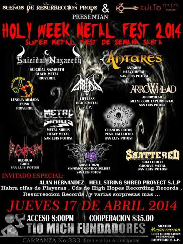 holy week metal fest